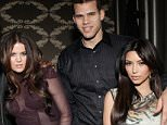 """LOS ANGELES, CA - FEBRUARY 18:  Lamar Odom, Khloe Kardashian, Kris Humphries and Kim Kardashian attend Kevin Hart's """"Laugh At My Pain"""" Official After Party at Club Nokia on February 18, 2011 in Los Angeles, California.  (Photo by Todd Williamson/WireImage)"""