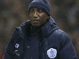 Manager Chris Ramsey of QPR during the Sky Bet Championship match between Derby County and Queens Park Rangers  played at the iPRO Stadium, Derby, on November 3rd 2015
