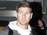 """Picture Shows: Steven Gerrard  November 04, 2015    * Min Paper Fee £300 *    * Min Web Fee £300 For Set / No Per Pic Fee  **    Is He Coming Home?    Steven Gerrard returns to London, arriving at Heathrow Airport, UK. Steven kept it casual in a grey tracksuit and black Yeezy Boosts.    The fact Gerrard was carrying so much luggage will be a hopeful sign for his legions of British fans.    Jurgen Klopp has stated he is happy for Steven Gerrard to train with Liverpool FC... and rumours are rife he will re-join the club.    Klopp stated:    """"Stevie is a legend at this club and if he's here in Liverpool and he's young and healthy enough to want to train, that is absolutely no problem.    """"Nothing else - he didn't ask (about playing) so I don't have to think about it. He is an LFC legend and our doors are always open.""""    Exclusive All Rounder  WORLDWIDE RIGHTS  Pictures by : FameFlynet UK © 2015  Tel : +44 (0)20 3551 5049  Email : info@fameflynet.uk.com"""