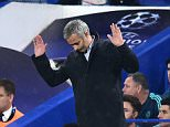 Chelsea's Manager Jose Mourinho after the crowd sing his name