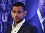 British boxer Amir Khan poses after a news conference in New Delhi, India, November 3, 2015. Khan said on Tuesday his team is negotiating a fight with Manny Pacquiao in what would be the Filipino great's final bout before taking to full-time politics. REUTERS/Anindito Mukherjee