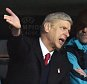 epa05011450 Arsenal's manager Arsene Wenger (2-L) reacts during the UEFA Champions League group F soccer match between Bayern Munich and FC Arsenal at Allianz Arena in Munich, Germany, 04 November 2015.  EPA/PETER KNEFFEL
