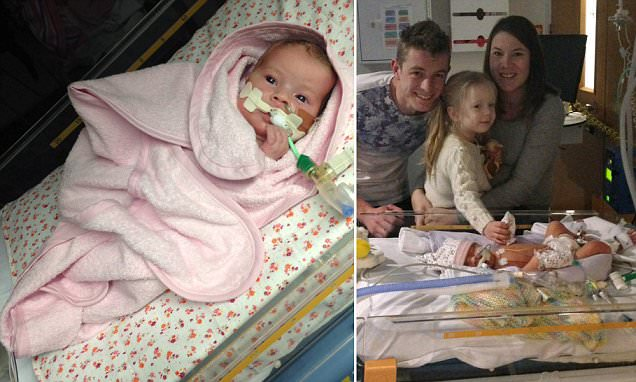 Minnie Duggleby becomes 1 of Britain's youngest organ donors at 23 days old