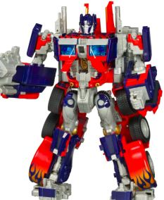 Superhero: The Transformer character Optimus Prime