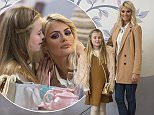 Mandatory Credit: Photo by Simon Ford/REX Shutterstock (5340065cz)  Chloe Sims and daughter Maddie.  'The Only Way is Essex' cast filming, Britain - 03 Nov 2015  Chloe Sims has a Birthday Tea at the PeaPod Tea Room, Billericay.