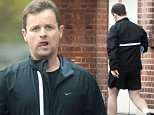 04.NOVEMBER.2015 - LONDON - UK\n**EXCLUSIVE ALL ROUND PICTURES**\n*** STRICTLY NOT AVAILABLE FOR MAIL ONLINE AND ANY ONLINE SUBSCRIPTION DEALS UNLESS FEE AGREED PRIOR TO USAGE***\nPumped up and Pouting Declan Donnelly leaves a gym ahead of the 'Im A Celebrity Get Me Out Of Here'\nseries start next week. Dec seems to have built up a lot of muscle tone and was looking Jungle Ready in\nhis shorts.\nBYLINE MUST READ : XPOSUREPHOTOS.COM\n***UK CLIENTS - PICTURES CONTAINING CHILDREN PLEASE PIXELATE FACE PRIOR TO PUBLICATION ***\nUK CLIENTS MUST CALL PRIOR TO TV OR ONLINE USAGE PLEASE TELEPHONE 0208 344 2007**