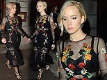 6 Nov 2015 - LONDON - UK  JENNIFER LAWRENCE, LIAM HEMSWORTH, NATALIE DORMER, JOSH HUTCHINSON WERE ALL SEEN LEAVING THE HUNGER GAMES BOOK LAUNCH COCKTAIL RECEPTION IN LONDON HELD AT MAISON ASSOULINE.   BYLINE MUST READ : XPOSUREPHOTOS.COM  ***UK CLIENTS - PICTURES CONTAINING CHILDREN PLEASE PIXELATE FACE PRIOR TO PUBLICATION ***  **UK CLIENTS MUST CALL PRIOR TO TV OR ONLINE USAGE PLEASE TELEPHONE   44 208 344 2007 **
