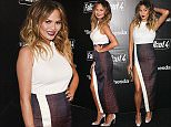 Chrissy Teigen arrives at the Fallout 4 Video Game Launch Event - Los Angeles  Pictured: Chrissy Teigen Ref: SPL1170758  051115   Picture by: Jen Lowery / Splash News  Splash News and Pictures Los Angeles: 310-821-2666 New York: 212-619-2666 London: 870-934-2666 photodesk@splashnews.com