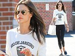 Picture Shows: Alessandra Ambrosio  November 05, 2015    Model and busy mom, Alessandra Ambrosio is seen leaving the gym after enjoying a workout in Beverly Hills, California.    Non-Exclusive  UK RIGHTS ONLY    Pictures by : FameFlynet UK © 2015  Tel : +44 (0)20 3551 5049  Email : info@fameflynet.uk.com