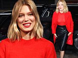 Mandatory Credit: Photo by Buzz Foto/REX Shutterstock (5354770e)\n Lea Seydoux\n Lea Seydoux arrives at AOL HuffPost Building, New York, America - 05 Nov 2015\n \n