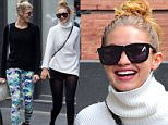 "November 5th 2015: Gigi Hadid and female friend seen leaving ""Chobani"" yogurt place in Soho, New York City, USA.\n\nPictured: Gigi Hadid\nRef: SPL1170160  051115  \nPicture by: GSNY / Splash News\n\nSplash News and Pictures\nLos Angeles: 310-821-2666\nNew York: 212-619-2666\nLondon: 870-934-2666\nphotodesk@splashnews.com\n"