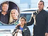 EXCLUSIVE TO INF.\nNovember 5, 2015: Newly single Gavin Rossdale is spotted out and about with his eldest son, Kingston Rossdale in Los Angeles, California. Rossdale's ex, Gwen Stefani, confirmed yesterday that she is in a relationship with country singer Blake Shelton.\nMandatory Credit: Chiva/INFphoto.com Ref: infusla-276