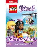 DK Reads LEGO� Friends Let's Explore!