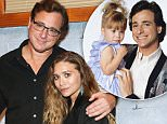 """NEW YORK, NY - NOVEMBER 06: Bob Saget (L) and Ashley Olsen attend Bob Saget Joins The Cast Of """"Hand To God"""" On Broadway at Booth Theatre on November 6, 2015 in New York City.  (Photo by Monica Schipper/Getty Images)"""