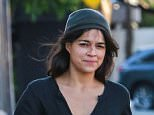6 November 2015. Michelle Rodriguez is seen taking a stroll in Los Angeles. Credit: BG/GoffPhotos.com   Ref: KGC-300/151106ANZ1 **UK, Spain, Italy, China, South Africa Sales Only**