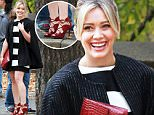Picture Shows: Hilary Duff  November 06, 2015\n \n Hilary Duff and Sutton Foster filming their latest TV show 'Younger' in Manhattan's Central Park in New York. The pair were seen having a laugh in between takes.\n \n Non Exclusive\n UK RIGHTS ONLY\n \n Pictures by : FameFlynet UK © 2015\n Tel : +44 (0)20 3551 5049\n Email : info@fameflynet.uk.com