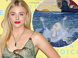 Mandatory Credit: Photo by Jim Smeal/BEI (4963076al).. Chloe Grace Moretz.. Teen Choice Awards, Press Room, Los Angeles, America - 16 Aug 2015.. WEARING GUCCI same outfit as model  4826354ag..