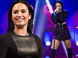 Demi Lovato appeared on the Swedish talk show Senkveld. 5 November 2015. \n6 November 2015.\nPlease byline: Vantagenews.com