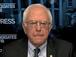 Bernie Sanders speaks with Chuck Todd on Meet The Press, Nov 8 2015