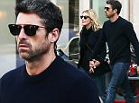 EXCLUSIVE Patrick Dempsey and his ex-wife Jillian Fink are seen back together and in love as they stroll in the Saint-Germain-des-PrÈs neighborhood in Paris, France, on November 8th 2015. They divorced last May. Dempsey, dubbed McDreamy in hit TV show Grey's Anatomy, is soon to appear on the big screen alongside Renee Zellweger in the latest instalment of the Bridget jones series of movies.\n8 November 2015.\nPlease byline: Vantagenews.com