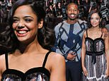 "TORONTO, ON - NOVEMBER 08:  Actors Michael B. Jordan, Tessa Thompson and Director Ryan Coogler surprise Canadian fans at a special advanced screening of ""Creed"" at TIFF Bell Lightbox on November 8, 2015 in Toronto, Canada.  (Photo by George Pimentel/WireImage)"