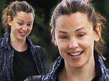 Please contact X17 before any use of these exclusive photos - x17@x17agency.com   Jennifer Garner is all smiles before hitting the gym in Brentwood. Jennifer was in a good mood, laughing with a friend while her estranged hubby Ben Affleck films 'Live By Night' in Georgia. November 9, 2015 X17online.com EXCLUSIVE