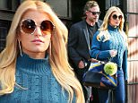 Jessica Simpson and husband Eric Johnson leaving their hotel in NYC\n\nPictured: Jessica Simpson and husband Eric Johnson leaving their hotel in NYC\nRef: SPL1172047  091115  \nPicture by: Splash News\n\nSplash News and Pictures\nLos Angeles: 310-821-2666\nNew York: 212-619-2666\nLondon: 870-934-2666\nphotodesk@splashnews.com\n
