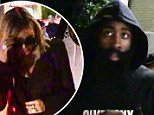 EXCLUSIVE: **NO USA TV AND NO USA WEB** MINIMUM FEE APPLY**Khloe Kardashian and James Harden spotted together for the first time since Khloe's legal husbands medical emergency. The couple spotted walking out of Lure Nightclub-Hollywood together, but later walked apart to avoid being further shot together.\n\nPictured: James Harden & Khloe Kardashian\nRef: SPL1172830  091115   EXCLUSIVE\nPicture by: TMZ.com / Splash News\n\nSplash News and Pictures\nLos Angeles: 310-821-2666\nNew York: 212-619-2666\nLondon: 870-934-2666\nphotodesk@splashnews.com\n