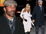 **DM EXC PIC COVERAGE** November 8, 2015 Jon Hamm and Jennifer Westfeldt attend a dinner party for Mike Nichols \n\nMike Nichols will be remembered Sunday night nearly a year after his death by hundreds who loved him as a dinner party is held at the IAC building in New York City