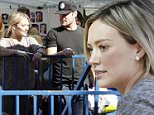 8.NOV.2015 - LOS ANGELES - USA\n***AVAILABLE FOR UK AND GERMANY SALE ONLY ***\nHILARY DUFF AND EX HUSBAND MIKE COMRIE AT THE FARMER'S MARKET WITH THEIR SON LUCA CRUZ ON SUNDAY. THE ACTRESS CARRIED A CHANEL BAG AND WORE GREEN SKINNY JEANS AND A GREY SWEATER.\nBYLINE MUST READ: XPOSUREPHOTOS.COM\n***UK CLIENTS - PICTURES CONTAINING CHILDREN PLEASE PIXELATE FACE PRIOR TO PUBLICATION ***\n*UK CLIENTS MUST CALL PRIOR TO TV OR ONLINE USAGE PLEASE TELEPHONE 0208 344 2007*