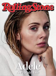 Adele on the cover of Rolling Stone