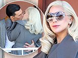 Lady Gaga gets swept off her feet while filming a kissing scene in 'American Horror Story' at a motel in Hollywood with co star Finn Wittrock\nFeaturing: Lady Gaga, Finn Wittrock\nWhere: Hollywood, California, United States\nWhen: 10 Nov 2015\nCredit: Cousart-Tical/JFXimages/WENN.com