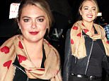 10 Nov 2015 - LOS ANGELES - USA  KATE UPTON ARRIVES AT MADEO RESTAURANT IN HOLLYWOOD.   BYLINE MUST READ : XPOSUREPHOTOS.COM  ***UK CLIENTS - PICTURES CONTAINING CHILDREN PLEASE PIXELATE FACE PRIOR TO PUBLICATION ***  **UK CLIENTS MUST CALL PRIOR TO TV OR ONLINE USAGE PLEASE TELEPHONE  44 208 344 2007 ***