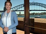 Dame Julie Andrews poses for a photograph in front of the Harbour Bridge in Sydney on Tuesday, Nov. 10, 2015. Dame Julie Andrews will direct the 60th anniversary production of My Fair Lady, which will play at the Sydney Opera House , from August 30, 2016. (AAP Image/Paul Miller) NO ARCHIVING