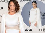 Dascha Polanco attends the 25th annual Glamour Women of the Year Awards at Carnegie Hall on Monday, Nov. 9, 2015, in New York. (Photo by Evan Agostini/Invision/AP)