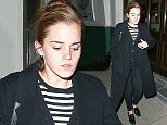 Acrtess Emma Watson and friend leaving the Lemonia restaurant in north London, UK. 11/11/2015 ..BYLINE MUST READ : JAMESY/GOTCHA IMAGES....Copyright by © Gotcha Images Ltd. All rights reserved...Usage of this image is conditional upon the acceptance ..of Gotcha Images Ltd, terms and conditions available at..www.gotchaimages.com