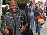 12 NOV 2015 - LONDON - UK *** EXCLUSIVE ALL ROUND PICTURES *** X factor favourite Anton Stephans seen looking happy and loved up with his girlfriend out in The Strand London. Anton has been consistently the top voted for contestant on this years show! BYLINE MUST READ : XPOSUREPHOTOS.COM ***UK CLIENTS - PICTURES CONTAINING CHILDREN PLEASE PIXELATE FACE PRIOR TO PUBLICATION *** GERMAN CLIENTS PLEASE CALL TO AGREE FEE PRIOR TO PUBLICATION **UK CLIENTS MUST CALL PRIOR TO TV OR ONLINE USAGE PLEASE TELEPHONE  +44 208 344 2007**