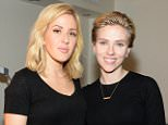 NEW YORK, NY - NOVEMBER 11:  Ellie Goulding, and Scarlett Johansson attend American Express Presents: AMEX UNSTAGED Featuring Ellie Goulding Directed By Scarlett Johansson at Hammerstein Ballroom on November 11, 2015 in New York City.  (Photo by Kevin Mazur/Getty Images for American Express)