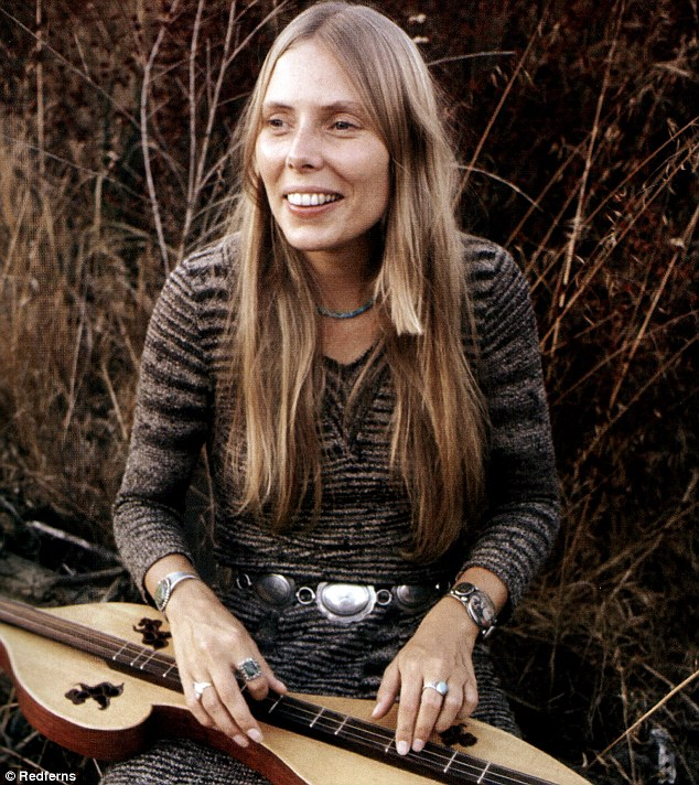 Iconic: The Canadian-born singer (pictured in January 2001), who was inducted into the Rock and Roll Hall of Fame in 1997, has won eight Grammys in her career and was one of the most iconic stars of her generation
