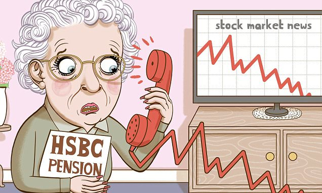 ASK TONY: Why did my HSBC pension fall £1,000 in just one month?