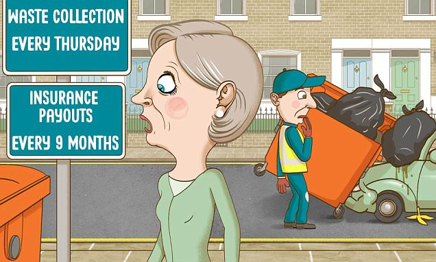 ASK TONY: Rubbish lorry dropped a bin on my car but its insurer won't pay out