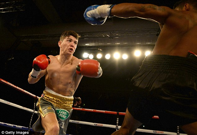 Luke Campbell (left) will fight as part of the bill in Birmingham on Saturday at the Barclaycard Arena