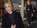 Nicole Kidman seen leaving the theatre after performing in 'Photograph 51'. \n\nPictured: Nicole Kidman\nRef: SPL1175469  121115  \nPicture by: TGB / Splash News\n\nSplash News and Pictures\nLos Angeles: 310-821-2666\nNew York: 212-619-2666\nLondon: 870-934-2666\nphotodesk@splashnews.com\n