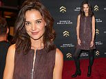 HOLLYWOOD, CA - NOVEMBER 12:  Actress Katie Holmes attends the launch of Barry's Bootcamp Hollywood at Barry's Bootcamp Hollywood on November 12, 2015 in Hollywood, California.  (Photo by Imeh Akpanudosen/Getty Images for Barry's Bootcamp Hollywood)