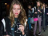 Picture Shows: Stella Maxwell  November 12, 2015    Victoria's Secret model Stella Maxwell spotted out and about in New York City, New York. Stella made her Victoria's Secret runway debut at their annual fashion show on Tuesday.     Exclusive All round  UK RIGHTS ONLY    Pictures by : FameFlynet UK © 2015  Tel : +44 (0)20 3551 5049  Email : info@fameflynet.uk.com