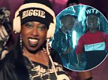 eURN: AD*187692005  Headline: Missy Elliott - WTF (Where They From) ft. Pharrell Williams [Official Video] Caption: vlcsnap-00013.jpg Photographer:  Loaded on 12/11/2015 at 15:48 Copyright:  Provider: Atlantic Records  Properties: RGB JPEG Image (2700K 39K 69.9:1) 1280w x 720h at 72 x 72 dpi  Routing: DM News : News (EmailIn) DM Online : Online Previews (Miscellaneous), CMS Out (Miscellaneous), Video Grabs (Miscellaneous)  Parking: