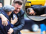 Alec Baldwin and Demi Moore filming their new movie 'Blind' in Brooklyn, NY. Stunt double of Alec Baldwin was hit by a taxi cab.\nFeaturing: Alec Baldwin\nWhere: NY, New York, United States\nWhen: 12 Nov 2015\nCredit: WENN.com