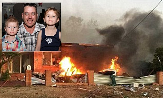 Queensland father's words before he died with his children in Mount Isa caravan explosion