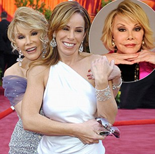 Joan Rivers and daughter Melissa