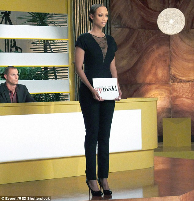 Speaking out: Tyra hosts America's Next Top Model, which featured its first plus-size contestant during the third season